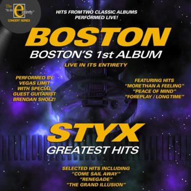 Albumpalooza: Tribute to Boston and Styx